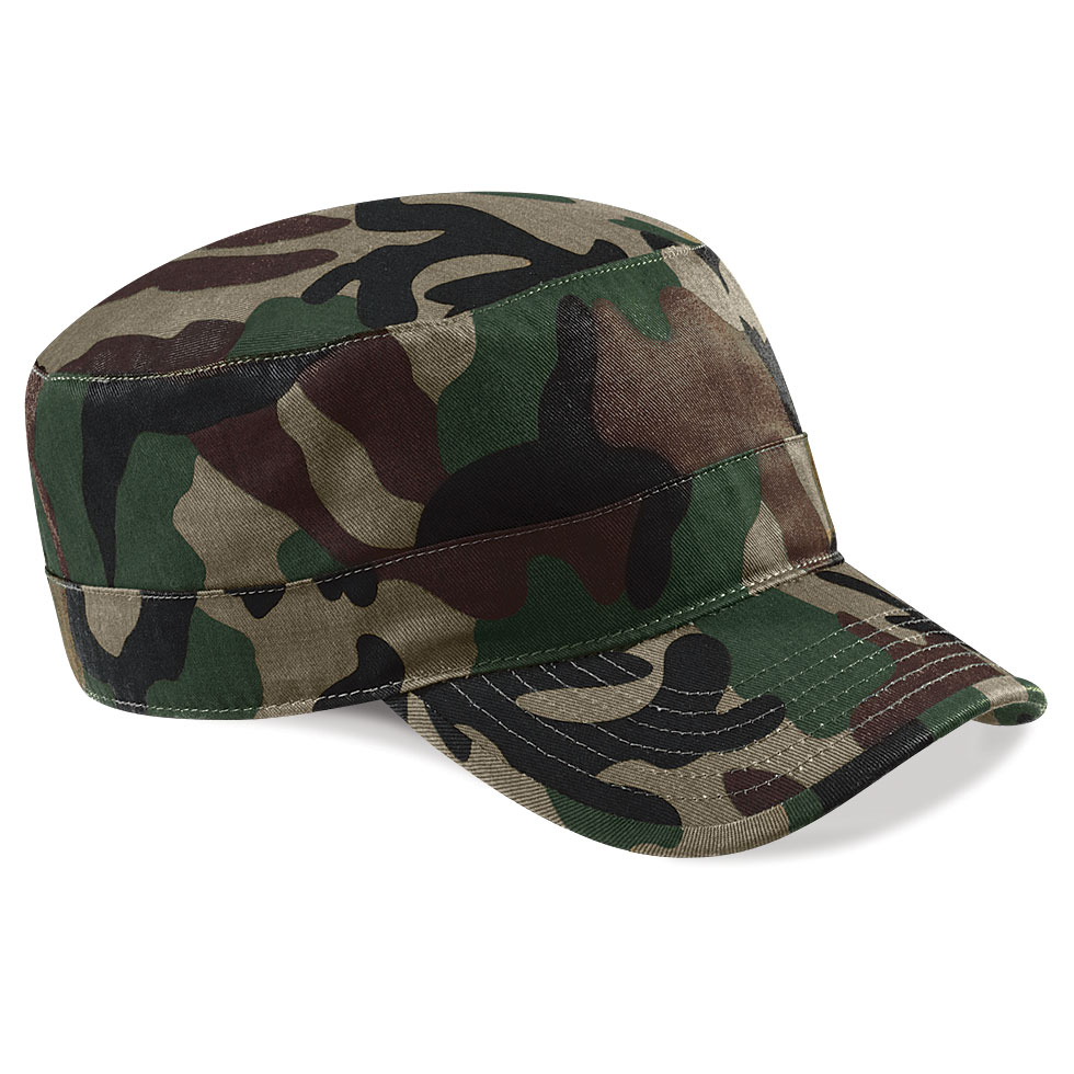 29aefb34d89586 Camouflage Army Cap - The Lanark Print Co.